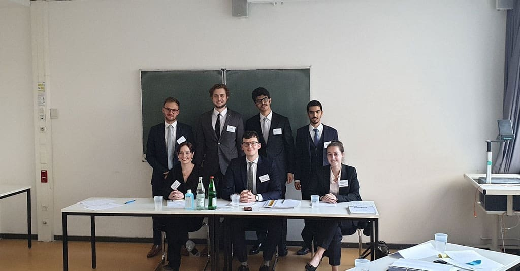 Vis moot team PSU travelled to Abu Dhabi for a three day training on international commercial arbitration