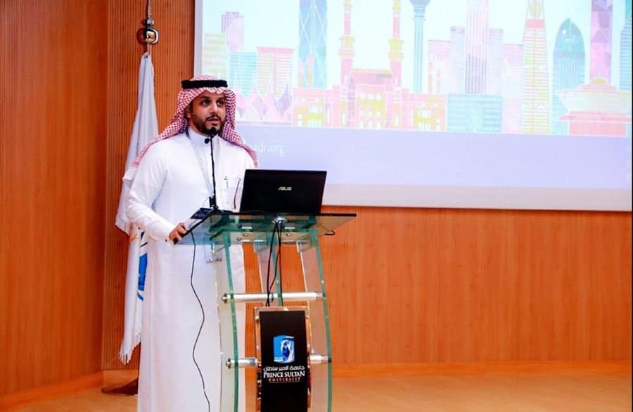 Dean of the College of Law, Dr. Fahad Almajid