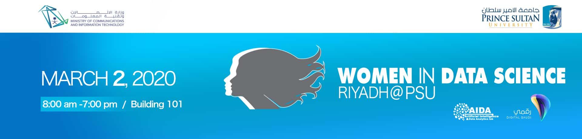 WOMEN IN DATA SCIENCE(WiDS) RIYADH Prince Sultan University