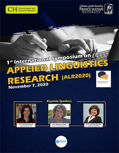 International Symposium on Applied Linguistics Research (ALR2020)