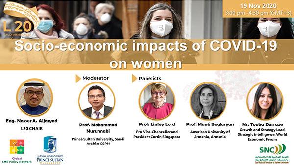 Socio-economic impacts of Covid-19 on women