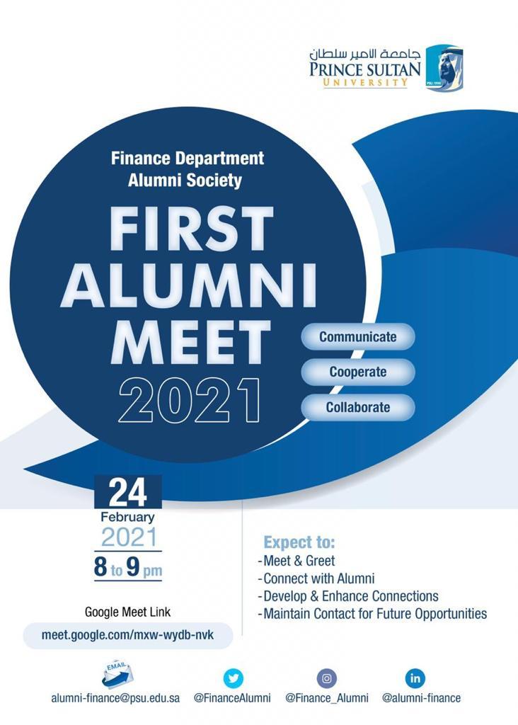Finance Department Alumni Meet
