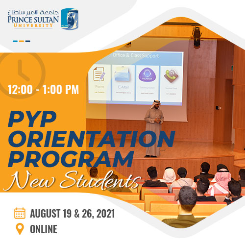 PYP Orientation for newly admitted students.