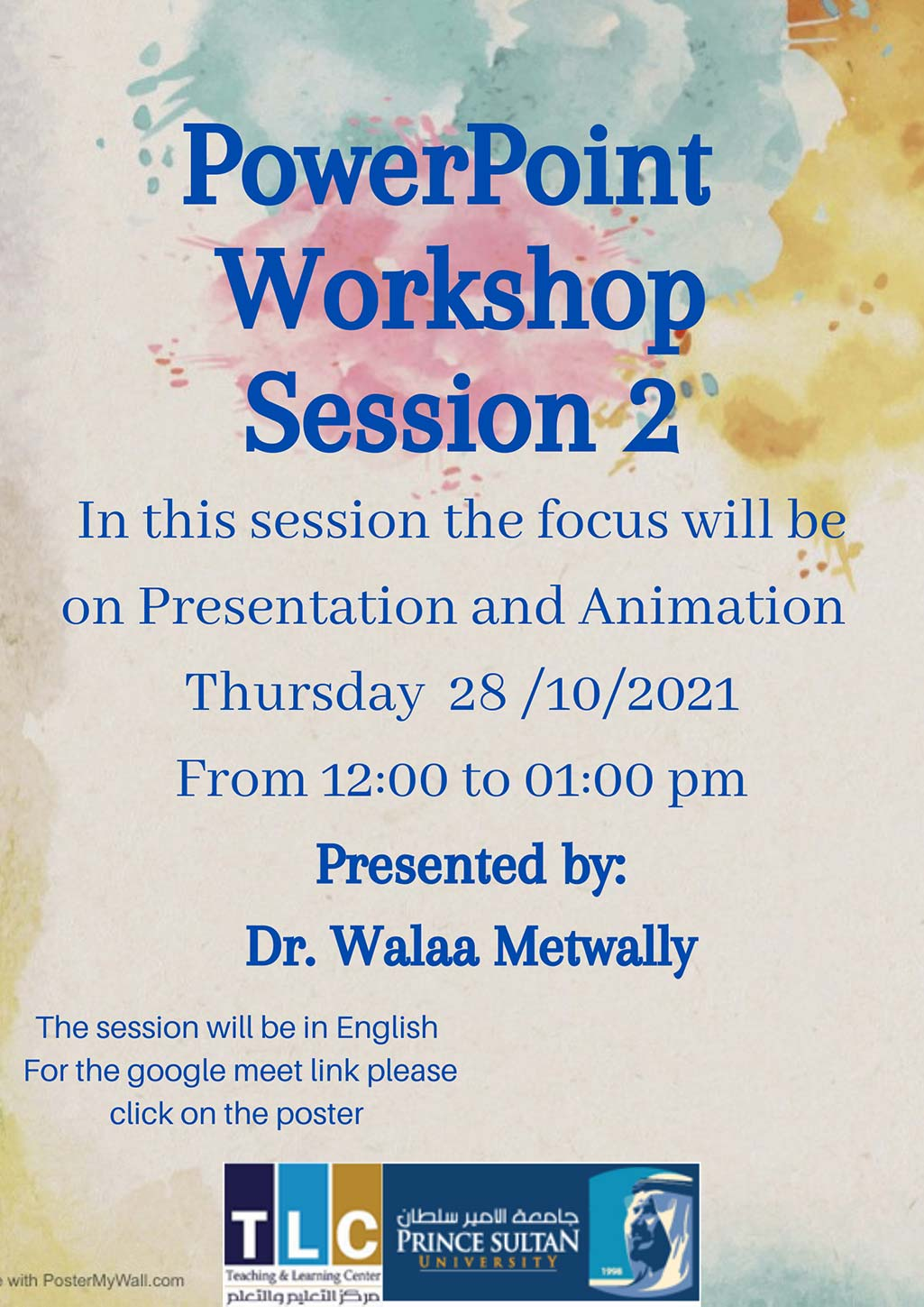 PowerPoint Workshop Session 2