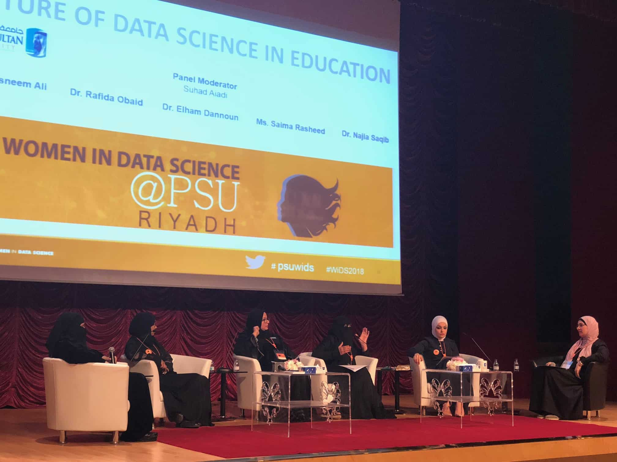 Women in Data Science Forum at Prince Sultan University in Collaboration with Stanford University