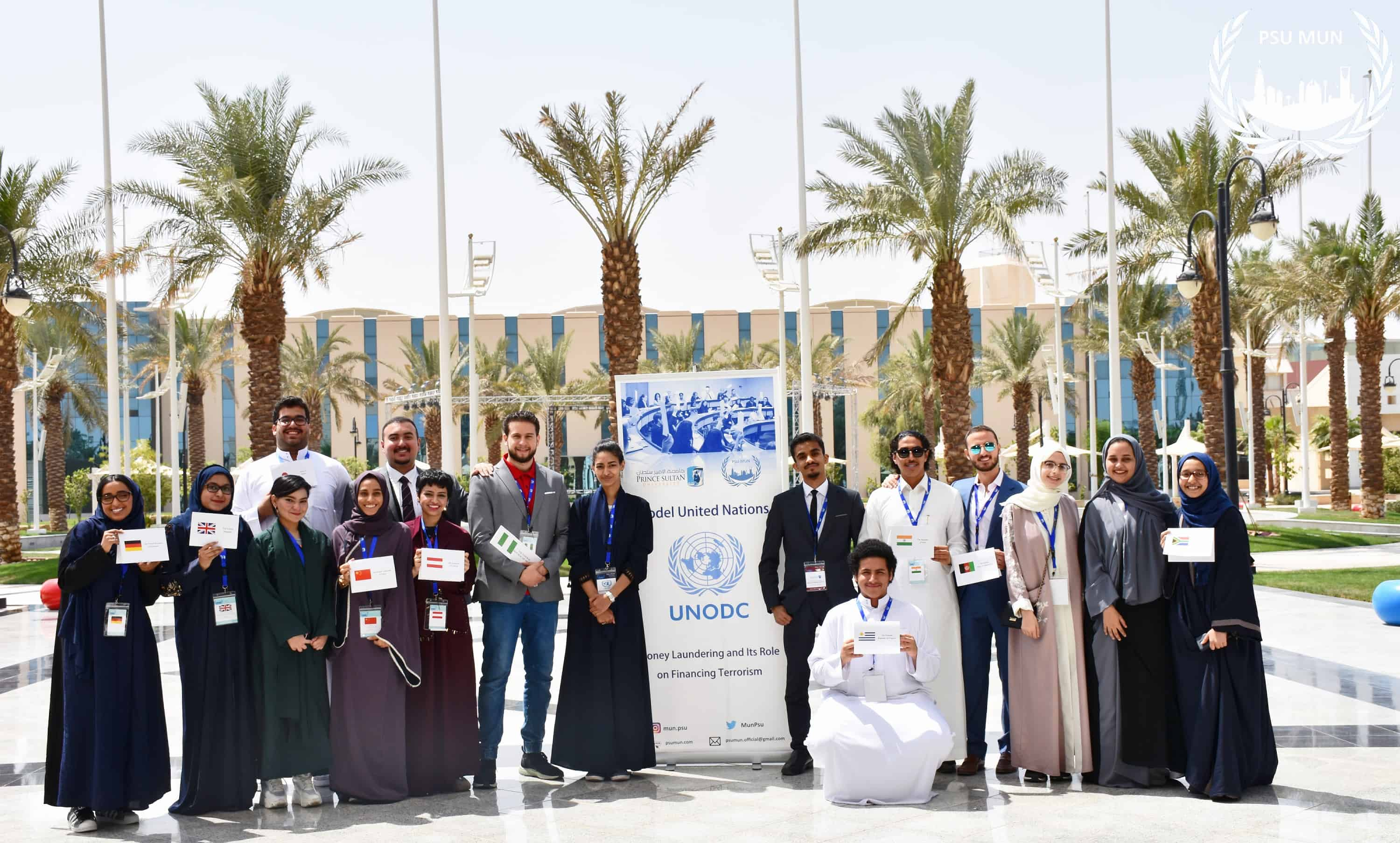 Prince Sultan University Organized (Model United Nations) for the First Time, 80 Applicants out of 300 Applicants were Accepted from all over Saudi Arabia