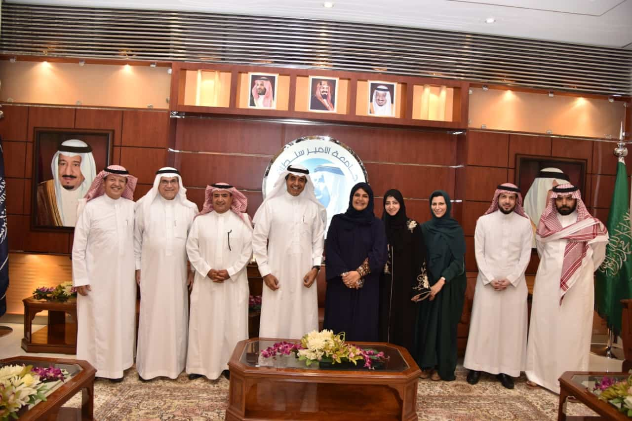 The Deputy Minister of Private Higher Education Visits PSU, Making it her First Visit since her Appointment