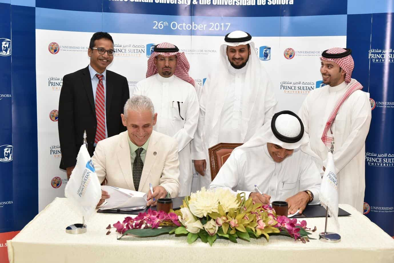 Research MOU between University of Sonora (UNISON), Mexico and Prince Sultan University