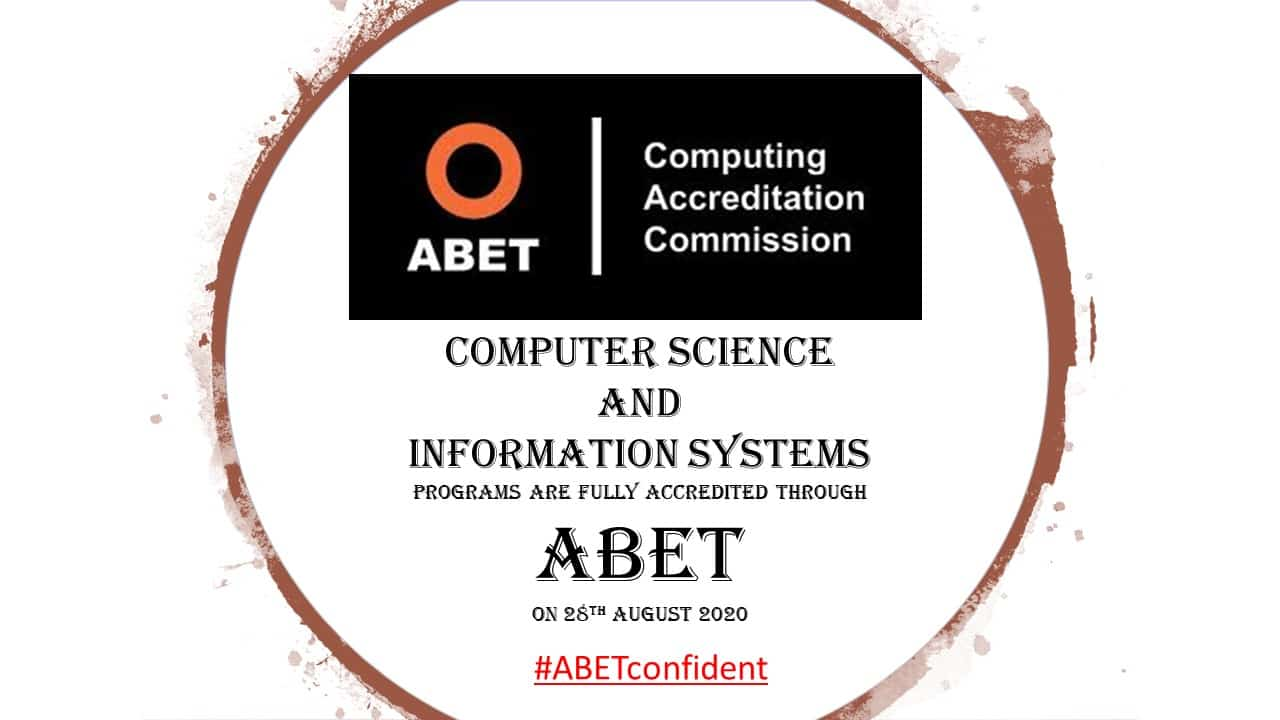 ABET Accreditation for CS and IS Programs