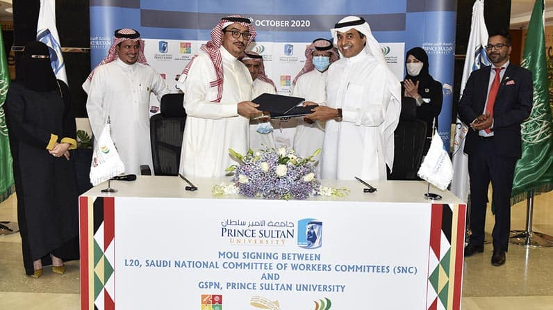 PSU Signed an Agreement with L20 as part of G20 and SNC