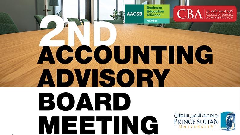 2nd Accounting Advisory Board Meeting 2021