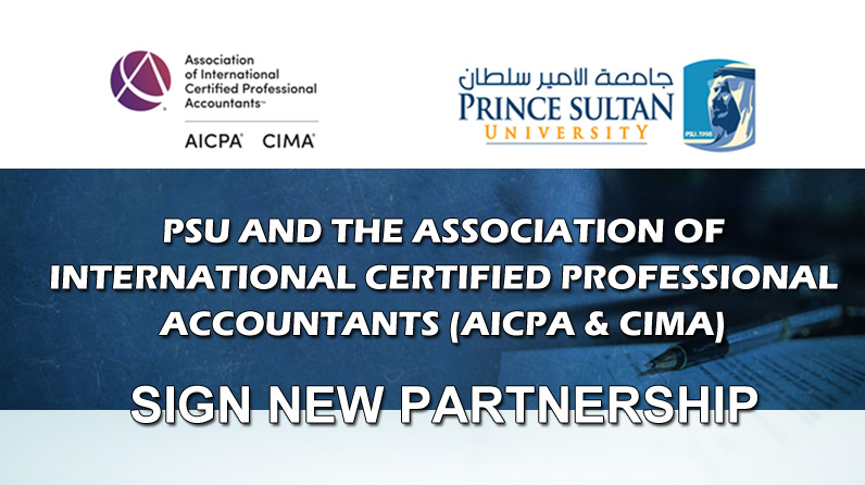 PSU And The Association Of International Certified Professional Accountants Sign New Partnership