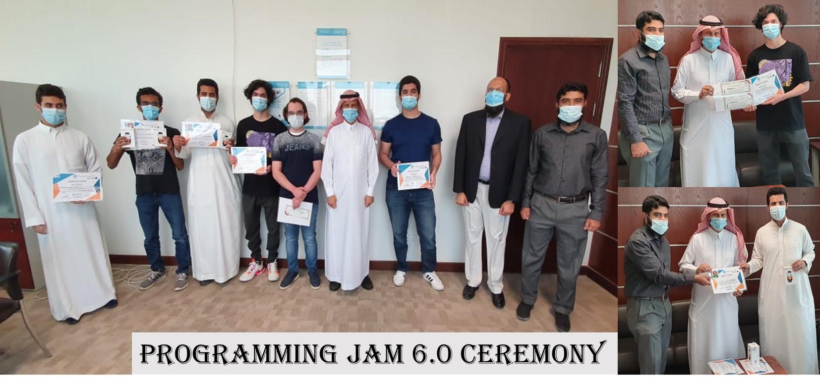 Programming Jam Ceremony 6.0