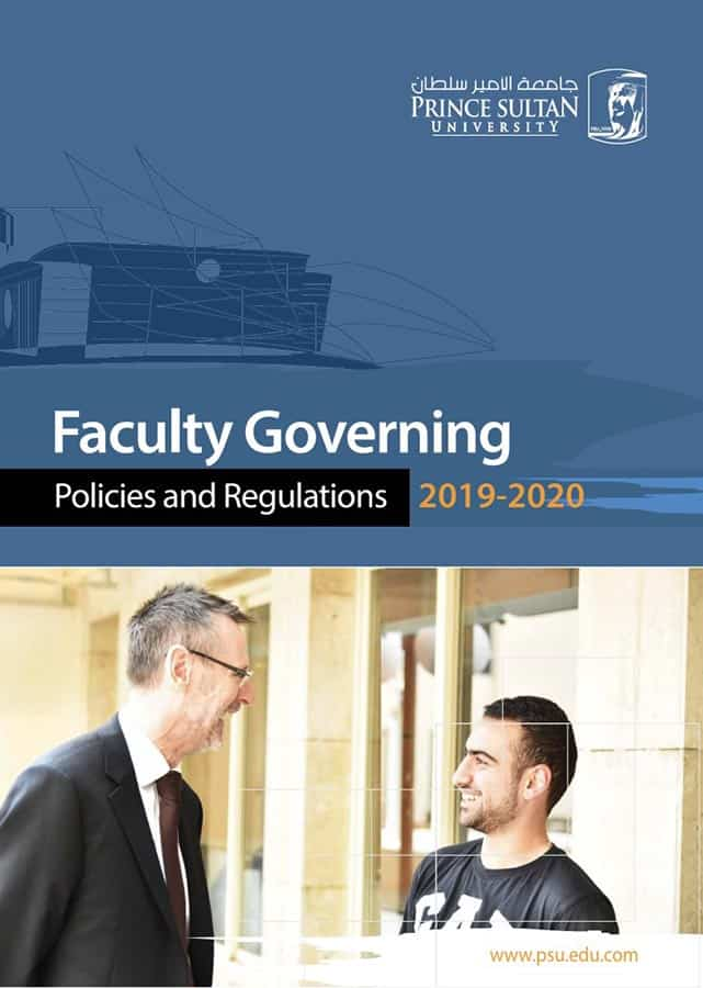 Faculty Governing Policy and Regulations 2019