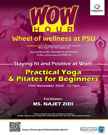 Staying fit and Positive at Work: Practical Yoga & Pilates for Beginners