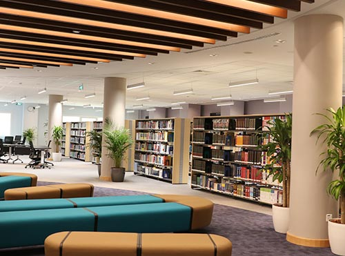 Deliver quality library services to stakeholders