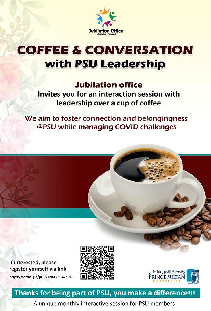 Coffee with PSU Leadership