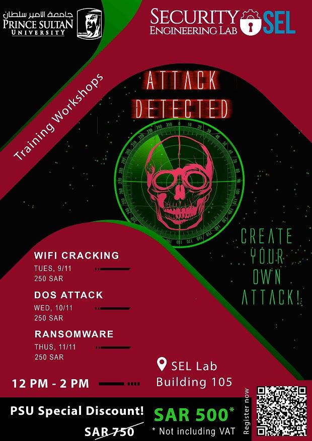 Training workshop for Attack Detected under SEL