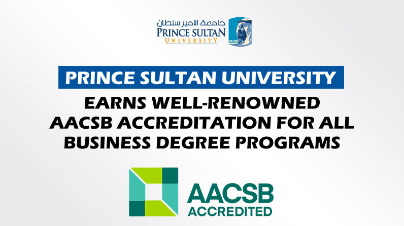 PSU is AACSB accredited
