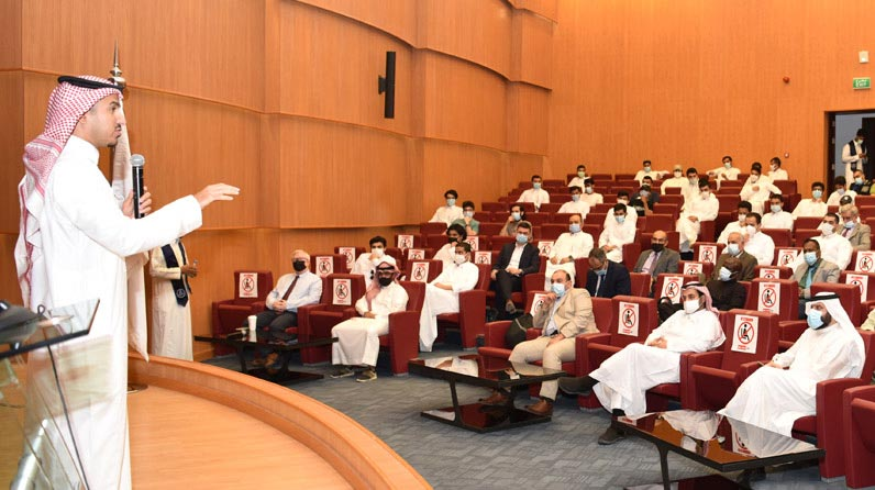 The College of Law holds an open meeting with its male and female students